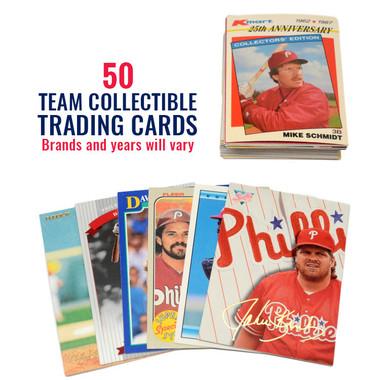 Philadelphia Phillies 50 Card Team Baseball Card Lot