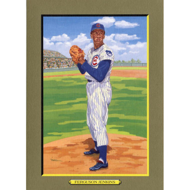 Fergie Jenkins Perez-Steele Hall of Fame Great Moments Limited Edition Jumbo Postcard # 93