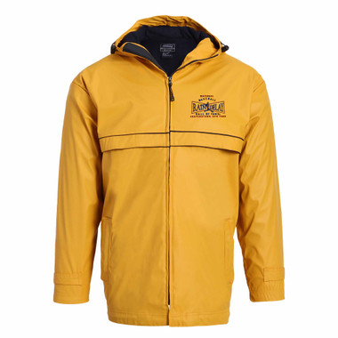 Men's Baseball Hall of Fame Yellow Rain Delay Jacket