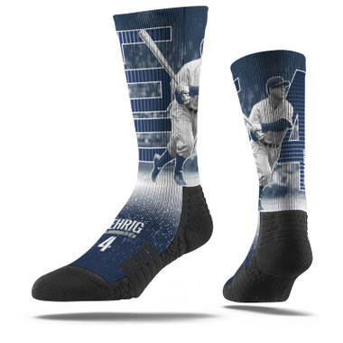 Men's Strideline Lou Gehrig Stripe Crew Socks