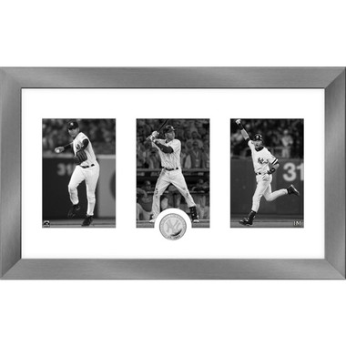 Highland Mint Derek Jeter Hall of Fame Class of 2020 Art Deco 12 x 20 Silver Coin Photo Mint