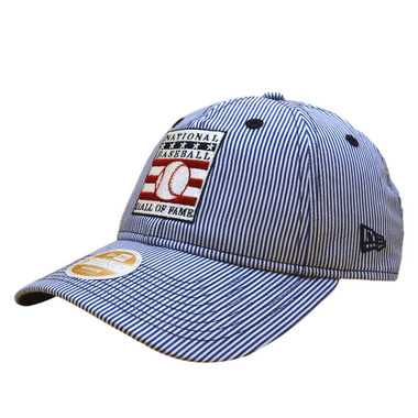 Women's New Era Baseball Hall of Fame Striped 9TWENTY Adjustable Cap