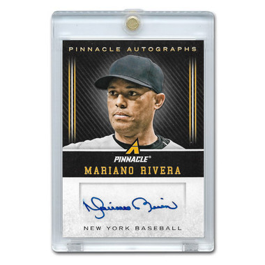 Mariano Rivera Autographed Card 2013 Panini Pinnacle Autographs
