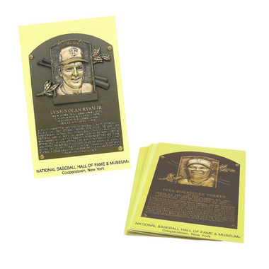 Texas Rangers Baseball Hall of Fame Plaque Postcard Team Set (10)