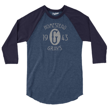 Unisex Teambrown Homestead Grays Champions Collection Longsleeve Baseball Shirt