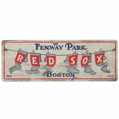 Open Road Boston Red Sox 10 x 28 Wood Cooperstown Collection Wall Art
