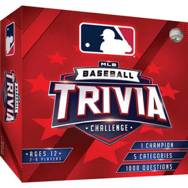MLB Baseball Trivia Challenge Board Game