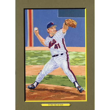 Tom Seaver Perez-Steele Hall of Fame Great Moments Limited Edition Jumbo Postcard # 73