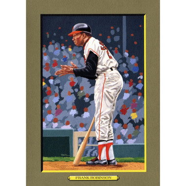 Frank Robinson Perez-Steele Hall of Fame Great Moments Limited Edition Jumbo Postcard # 94