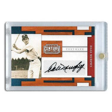 Dale Murphy Autographed Card 2010 Panini Century Collection Ltd Ed of 250