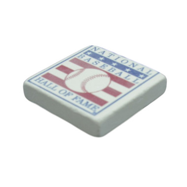 Baseball Hall of Fame Stone Logo Magnet
