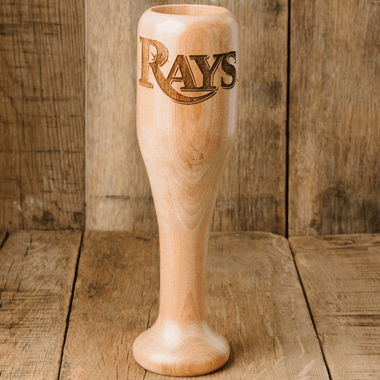Tampa Bay Rays MLB Team Logo Dugout Mug Baseball Bat Wine Mug