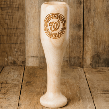 Washington Nationals MLB Team Logo Dugout Mug Baseball Bat Wine Mug