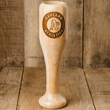 Oakland Athletics MLB Team Logo Dugout Mug Baseball Bat Wine Mug