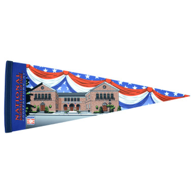 Baseball Hall of Fame Building Pennant