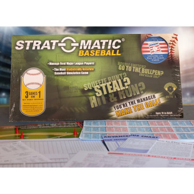 Strat-o-matic Hall of Fame 2020 Edition Baseball Game