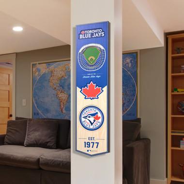 Toronto Blue Jays 8 x 32 3D StadiumView Banner