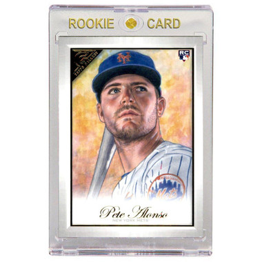 Pete Alonso New York Mets 2019 Topps Gallery # 24 Rookie Card