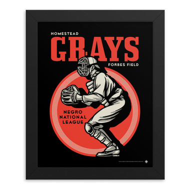 Teambrown Homestead Grays Artwork Framed 8 x 10 Print
