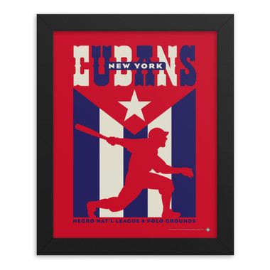 Teambrown New York Cubans Artwork Framed 8 x 10 Print