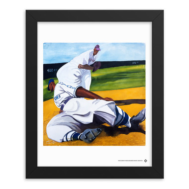 Teambrown Cuban Slide Artwork Framed 8 x 10 Print
