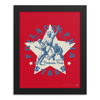 Teambrown Philadelphia Stars Artwork Framed 8 x 10 Print