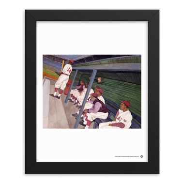 Teambrown Dugout Artwork Framed 8 x 10 Print