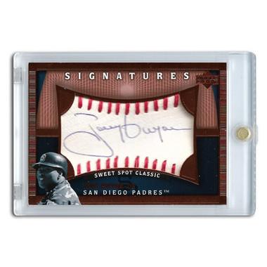 Tony Gwynn Autographed Card 2005 Sweet Spot Classic