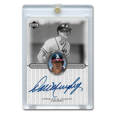 Dale Murphy Autographed Card 2000 Upper Deck Century Legends