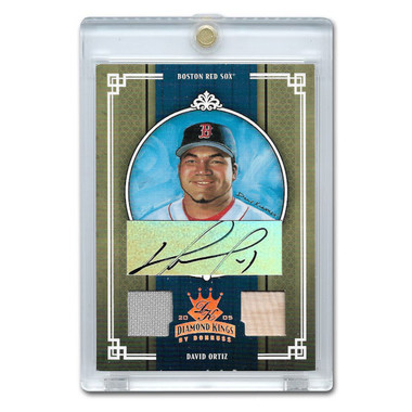 David Ortiz Autographed Card 2005 Donruss Diamond Kings Crowning Moment Ltd Ed of 100
