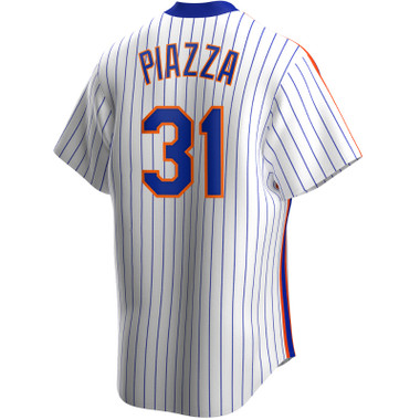 Men's Nike Mike Piazza New York Mets Cooperstown Collection Royal Pinstripe Jersey
