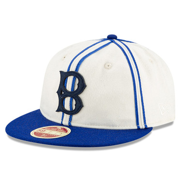 Men's New Era Heritage Series Authentic 1926 Brooklyn Dodgers Retro-Crown 59FIFTY Cap