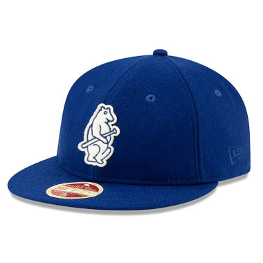 Men's New Era Heritage Series Authentic 1914 Chicago Cubs Retro-Crown 59FIFTY Cap