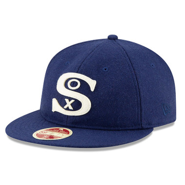 Men's New Era Heritage Series Authentic 1929 Chicago White Sox Retro-Crown 59FIFTY Cap