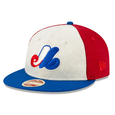 Men's New Era Heritage Series Authentic 1969 Montreal Expos Retro-Crown 59FIFTY Cap