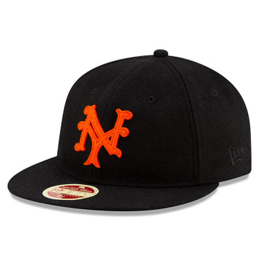 Men's New Era Heritage Series Authentic 1933 New York Giants Retro-Crown 59FIFTY Cap