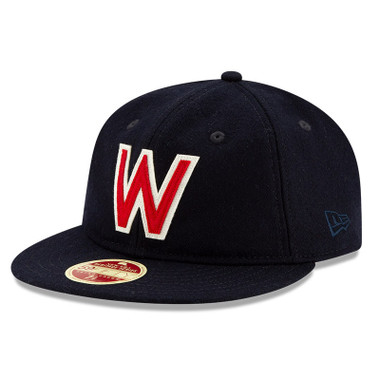 Men's New Era Heritage Series Authentic 1937 Washington Senators Retro-Crown 59FIFTY Cap
