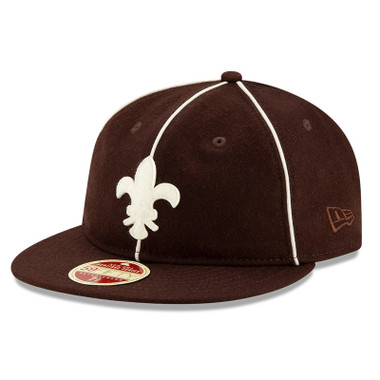 Men's New Era Heritage Series Authentic 1908 St. Louis Browns Retro-Crown 59FIFTY Cap