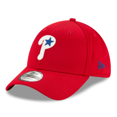 Men's New Era Philadelphia Phillies Alternate 39THIRTY Flex Fit Red Clubhouse Cap