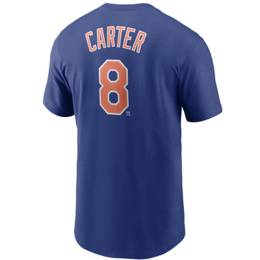 Men's Nike Gary Carter New York Mets Cooperstown Collection Name & Number Royal T-Shirt