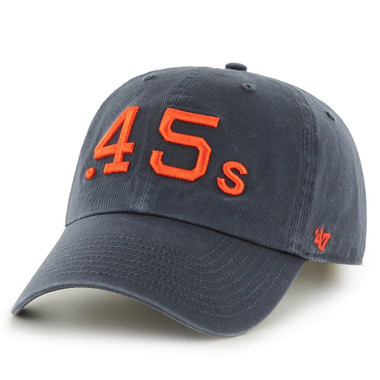Men's '47 Brand Houston Colt .45s Cooperstown Collection Clean Up Adjustable Cap