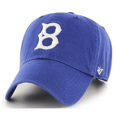 Men's '47 Brand Brooklyn Dodgers Cooperstown Collection Clean Up Adjustable Cap