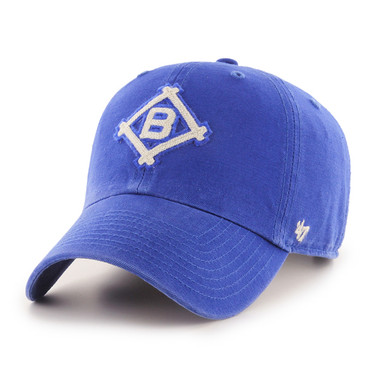Men's '47 Brand Brooklyn Dodgers Cooperstown McLean Clean-Up Adjustable Royal Cap