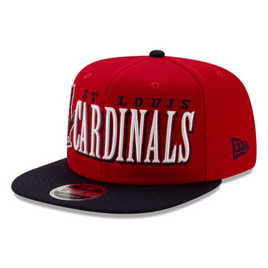 Men's New Era St. Louis Cardinals 1950 Jumbo 9FIFTY Snapback Maroon Cap