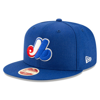 Men's New Era Heritage Series Established 1969 Montreal Expos Royal 59FIFTY Cap