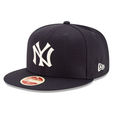 Men's New Era Heritage Series Established 1903 New York Yankees Navy 59FIFTY Cap