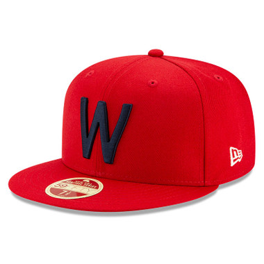 Men's New Era Heritage Series Established 1901 Washington Senators Red 59FIFTY Cap