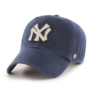 Men's '47 Brand New York Yankees Cooperstown McLean Clean-Up Adjustable Royal Cap