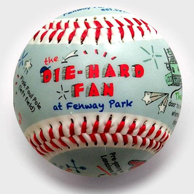 Die-Hard Fan at Fenway Park Unforgettaballs Limited Commemorative Baseball with Lucite Gift Box