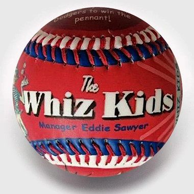 Philly Whiz Kids Unforgettaballs Limited Commemorative Baseball with Lucite Gift Box